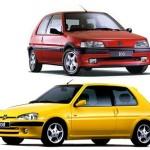 Peugeot 106 Wheel Spacers